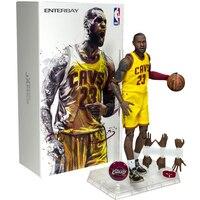 NBA звезда баскетбола Леброн Джеймс фигурку 22 см высокая модель игрушки для спорта баскетбол любовник коллекция для мальчиков подарок