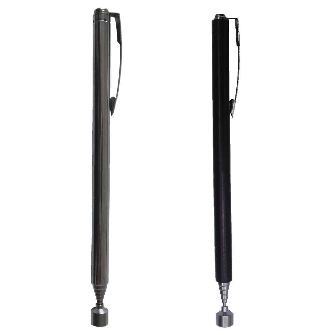 1pcs Black Portable Adjustable Pocket Magnetic Pick Up Pen Tools Rod Stick Extending Magnet Telescopic Easy Rod Handheld Tool
