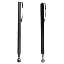 Magnetic Pick Up Stange Stick Magnet Verlängerung Teleskop Stange Magnetischen Abholen Werkzeuge Hand Werkzeug Schwarz Silber Optional