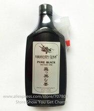 Freies verschiffen 12 UNZE Super Schwarz MAKKRUO SUMI Tattoo Umreißt Ink supply 360 ml/flasche