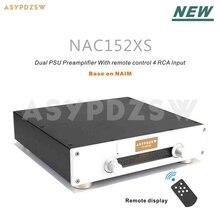 Новая версия NAC152 предусилитель основание на Наим NAC152XS с удаленным дисплеем 4 способа вход RCA