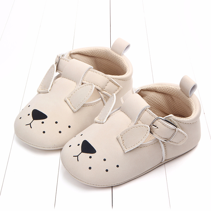 Baby First Walkers Matte leather Shoes for Baby Girl Boy Cartoon Animal Newborn Slippers Footwear Booties Kids Gift Child Shoes (8)