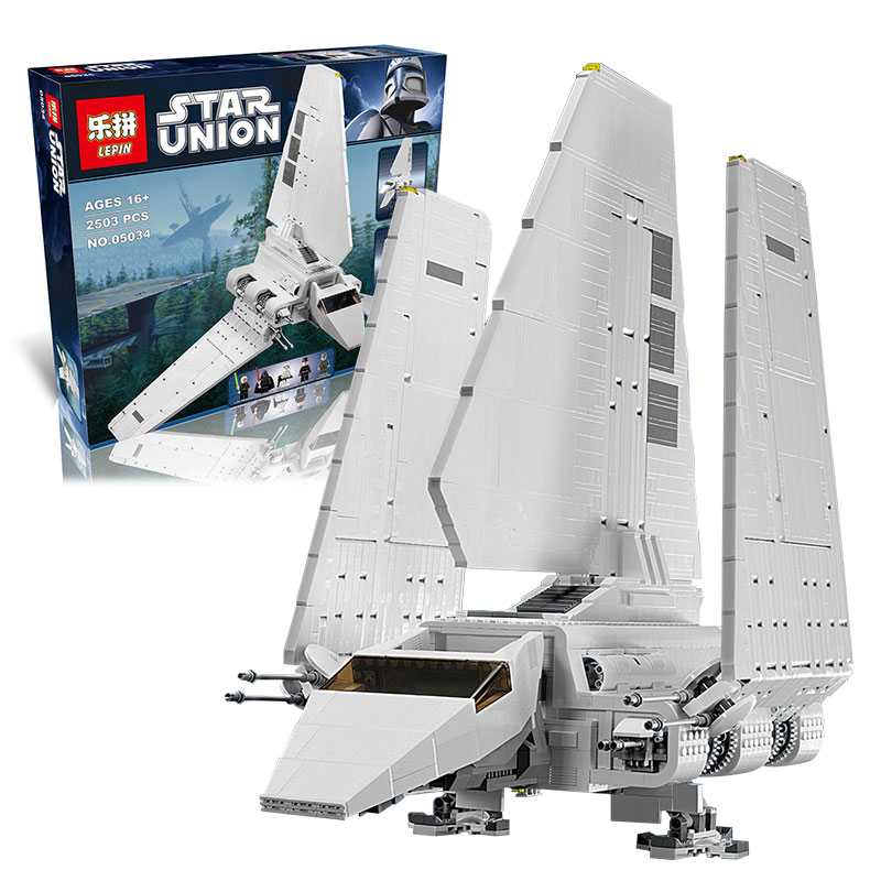 DHL In Stock LEPIN 05034 2503 pcs Star War Series The Imperial Shuttle Building Blocks Bricks Assembled Toys 10212