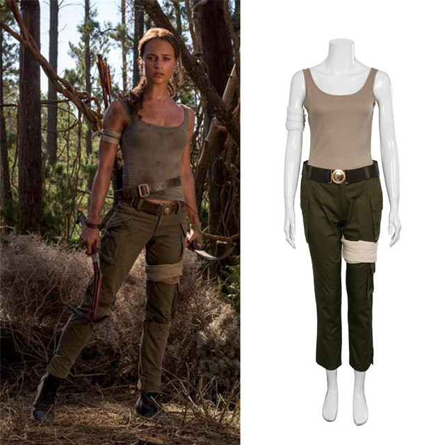 Neue Lara Croft Kostüm Tomb Raider Lara Croft Kostüm Halloween