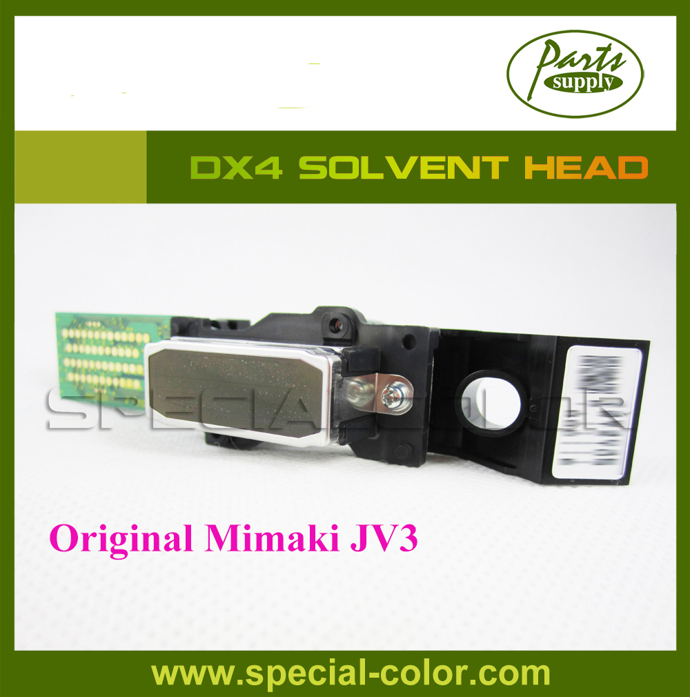 Mimaki JV3 Printhead for Epson DX4 Solvent Head (buying 1pc DX4 Printhead get 2pcs DX4 small damper free) [get 2pcs dx4 printhead small damper free] printer solvent head dx4 roland vp540 300 printhead origin from japan