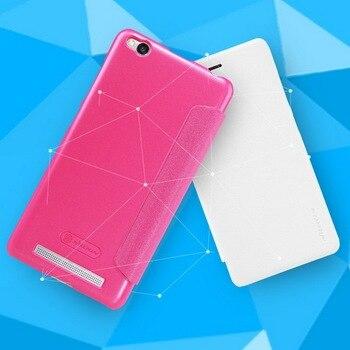 For XiaoMi RedMi 7 Case NILLKIN Sparkle Super Thin Flip Cover Luxury Leather Case For Redmi 3s/3pro/redmi 5/S2/Y2/6 Pro/Note6pro