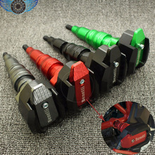 style 4 colors Motorbike Frame Sliders Crash Protector Falling Protection black color For Benelli BN300 BN600 BN 300 600