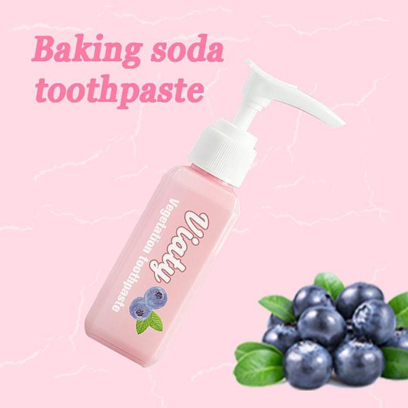 New Viaty Vegetation Toothpaste Stain Smoke Removal Reduce Tooth Dirt Whitening Toothpaste Fight Bleeding Gums Toothpaste