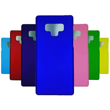 Phone Case For Fundas Samsung Galaxy Note 9 Coque case Candy Color Hard plastic PC phone Cover