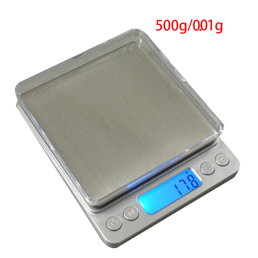 1pcs 500g x 0 01g mini accurate household kitchen scales lcd display scale digital electronic kitchen food diet pocket scales