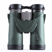 USCAMEL 10x42 Binoculars Professional Telescope Military HD High Power Hunting Outdoor Green