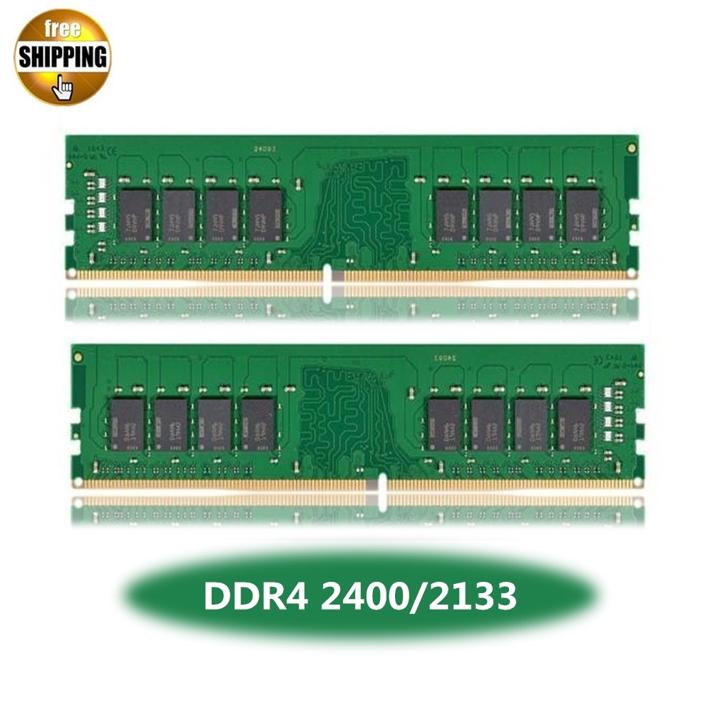 LONG-DIMM PC4-19200/17000 DDR4 2400/2133 MHz 4/8 GO PC4-19200/17000 288 BROCHES 1.2 V ordinateur de bureau Ordinateur Ram Mémoire DIMM Bâton NON-ECC