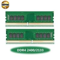 LONG DIMM PC4 19200/17000 DDR4 2400/2133MHz 4/8GB PC4 19200/17000 288 PIN 1.2V Desktop PC Computer Ram DIMM Memory Stick NON ECC