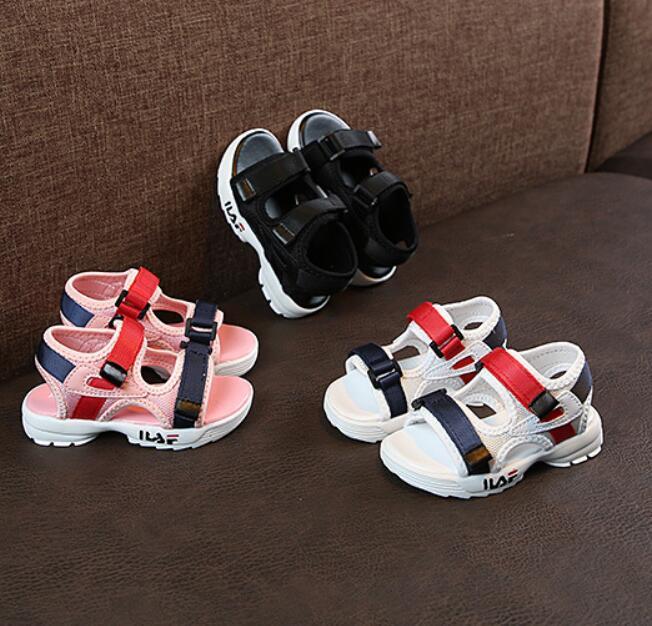 Girls Boys Brands Summer Sandals Children Soft Sole Beach Sandals 1-8 Years Old Baby Anti-slip Cozy Cute Kids Sport Shoes