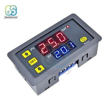 цена на DC 12V AC 110V 220V Digital Time Delay Relay LED Display Cycle Timer Control Switch Adjustable Timing Relay Time Delay Switch