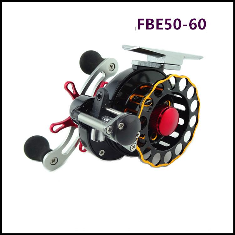 все цены на  New FBE 50-60 Automatic wire spread Raft Reels 4 + 1BB All aluminum alloy CNC Sea Fishing Spinning Wheels  онлайн