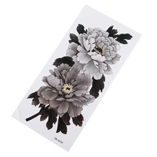 Cool Flower Tattoo Sticker Waterproof Moisture Durable Lady Elegant Sexy Arm Chest Exquisite