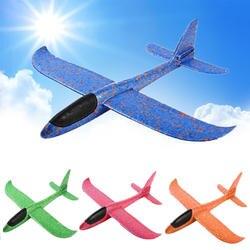 2019 DIY ручной работы Бросьте Летающий планер s игрушки для детей пены модель аэроплана вечерние наполнители Летающий планер игрушки игры