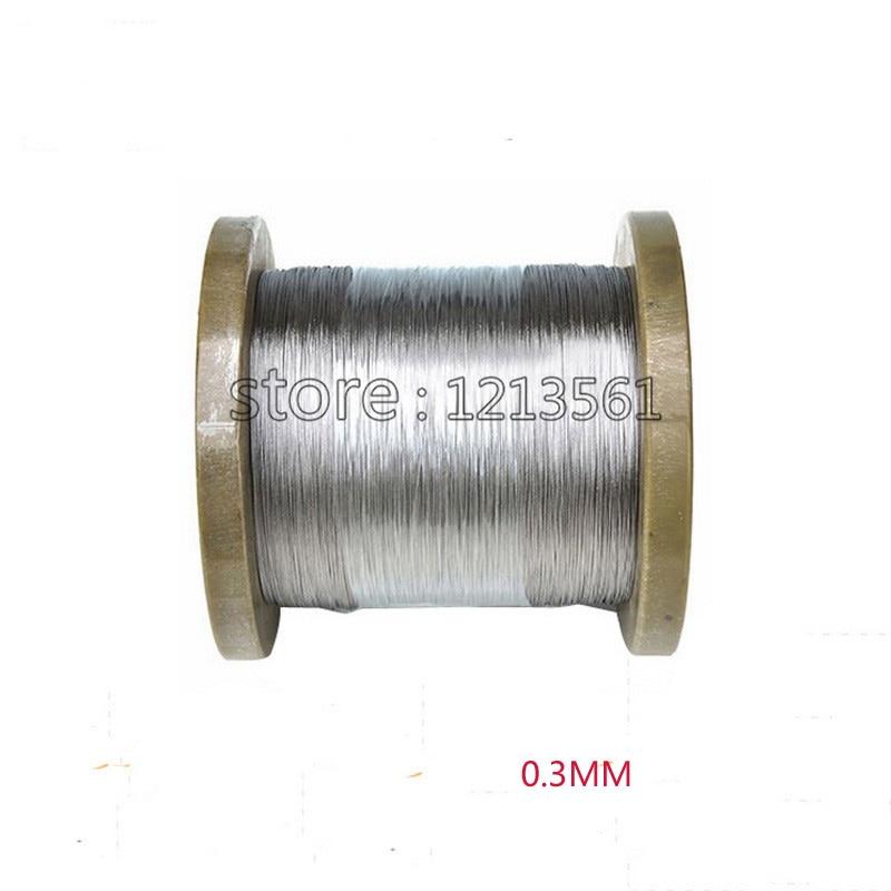 Clever 0,3mm 30 Gauge/0,3mm Ss Seetüchtig Gewinde 316/316l Weichen Edelstahl Draht