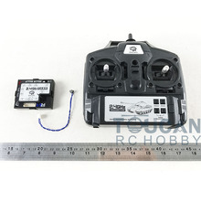 Henglong 4th 2.4 GHz 5.3 RC Radio Controller บอร์ดหลัก Multifunction หน่วย THZH0140