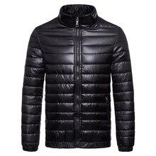 Brand Autumn Winter Lightweight convenient warm youth Jacket fashion do