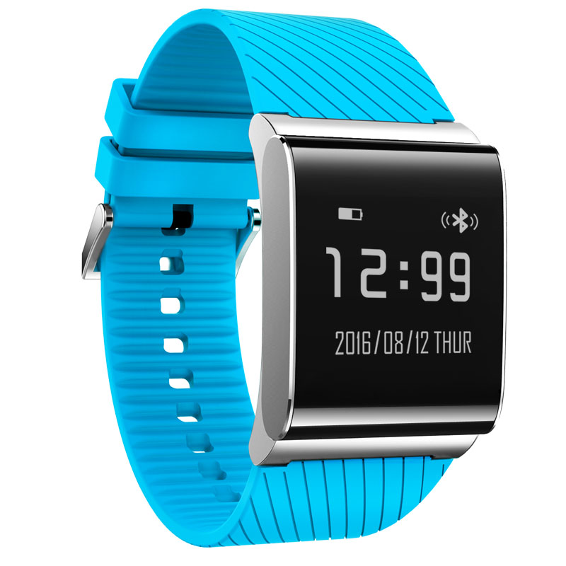 Blue Smart Wristband X 9 Plus heart rate Monitor sedentary remind smart wristband pedometer for xiaomi