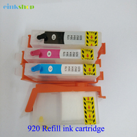 Remanufactured Refillable Ink Cartridge920 920xl Ink Cartridge For HP Officejet 6500a 6000 6500 7000 7500A Printer