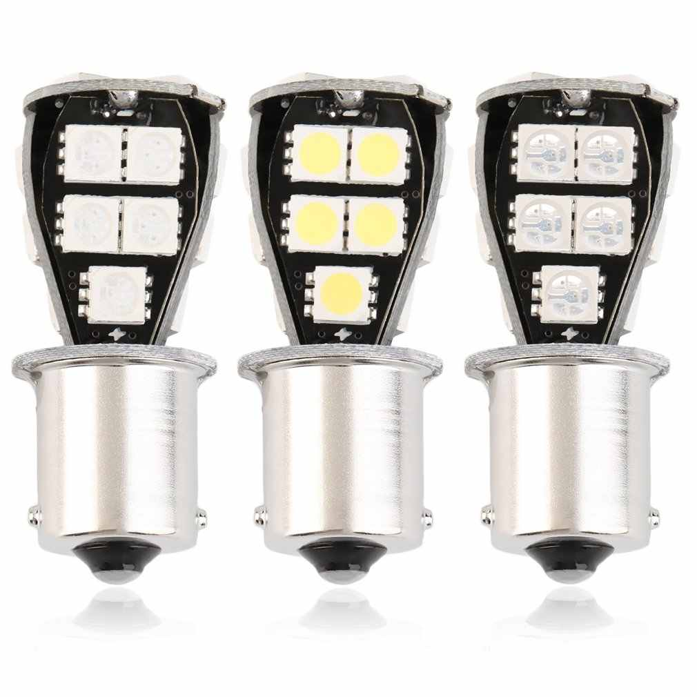 hotest 1pc High Quality CANBUS Error Free 1156 BA15S 18 SMD 5050 LED Signal P21W Car Auto Tail Brake Stop Light Bulb Lamp DC12V