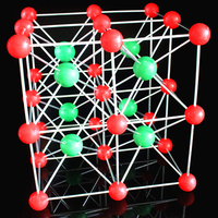Eight Unit Cell Cesium Chloride Crystal Structure Model CsCl Eight Cubes Molecular Model Chemistry Teaching Aids