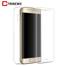 3D Full Cover For Samsung Galaxy S8 S8 plus Clear PET Soft Screen Protector Film For Samsung S7 Edge S6 Edge Mobile Phone Case