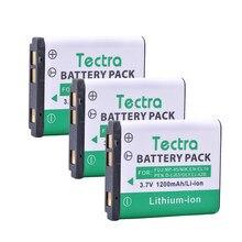 Tectra – batterie Rechargeable Li 42B Li42B Li-42B, 3 pièces, pour OLYMPUS U700 U710 FE230 FE340 FE290 FE360 U1040 X915 VR320 VR330, Li-40B