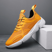 Купить с кэшбэком Breathable Casual Shoes Men Sneakers Male Shoes Adult White Black  Non-slip Soft Mesh Men Shoes Sapato Masculino 2019 Summer New