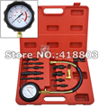 DIRECT & INDIRECT DIESEL ENGINE COMPRESSION INJECTION TESTER 12pc TEST KIT GAUGE