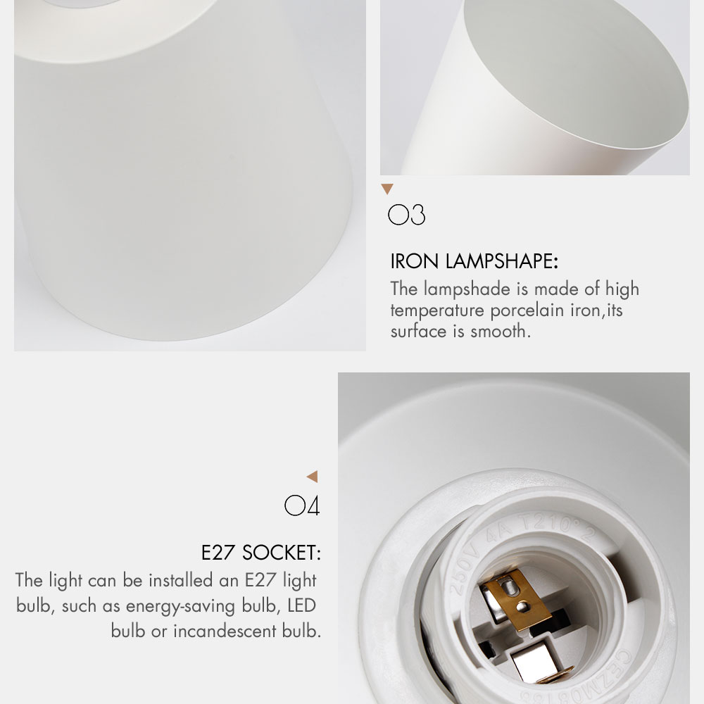 wooden wall lights bedside wall lamp wall sconce modern wall light for bedroom Nordic macaroon 6 color steering head E27 85-285V 5