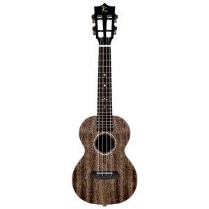 Image 4 - Enya MAD ukulele Tenor concert Solid Mahogany ukulele 23/26inch Blue uku Black Hawaii 4 string guitar musical instruments