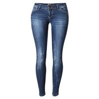 2016 Sexy Vita Bassa Jeans Donna Skinny Denim Pant Per Le Donne Boyfriend Jeans Per Le Donne Elastico Blu Jeans Strappati Più Il Formato S1527