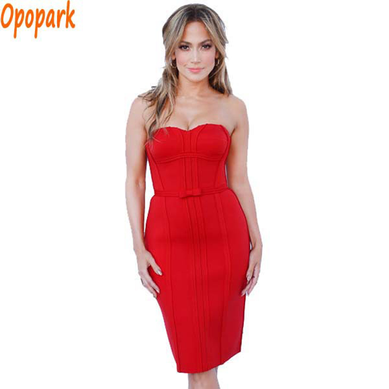 Online Buy Wholesale strapless red dress from China strapless red ...