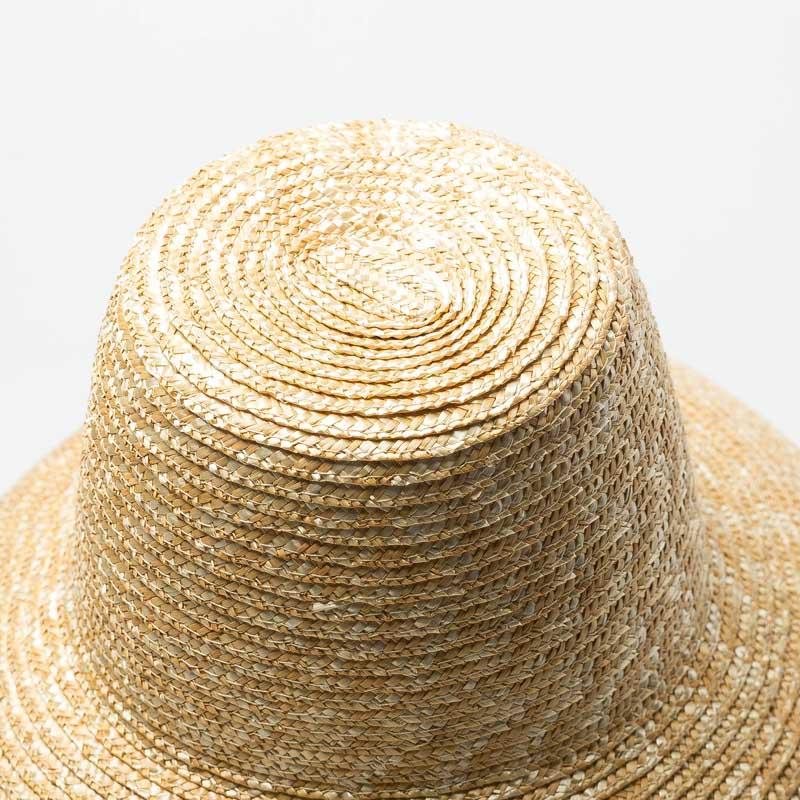 Lamp-Shape Straw-Hat Uv-Protection Derby Wide-Brim Women Summer Ladies New for Big High-Top