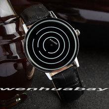 Black Quartz Wristwatches Mens