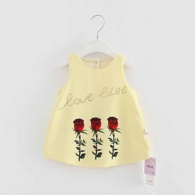 תינוקת שמלת ליילוד בנות יום הולדת שמלת קיץ תחרה נסיכת תינוק בגדים