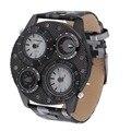 Grandes Hombres del Dial del Reloj de Pulsera Tiempo Temperatura Brújula Reloj de la Exhibición Csual Fresco Reloj de Marca Relojes de Los Hombres 2017 Caliente venta