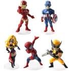 5pcs/lot Super Heroe...