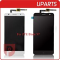 High Quality For ZTE Blade V7 LCD Display Touch Screen Glass Digitizer Assembly Replacement Tracking code Free Shipping