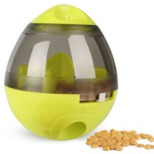 New Interactive Dog Cat Food Treat Ball Bowl Toy Funny Pet Shaking Leakage Container Puppy Slow Feed Tumbler