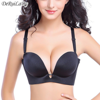 2015 Women Super Push Up Bra Plus Size C Cup Sexy Lingerie High Quality Fashion Seamless