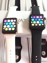 Hot sale IWO 2 iwo 1:1 Smart Watch IP65 Waterproof Wireless Charging Sapphire crystal Werable device pk apple watch kw88