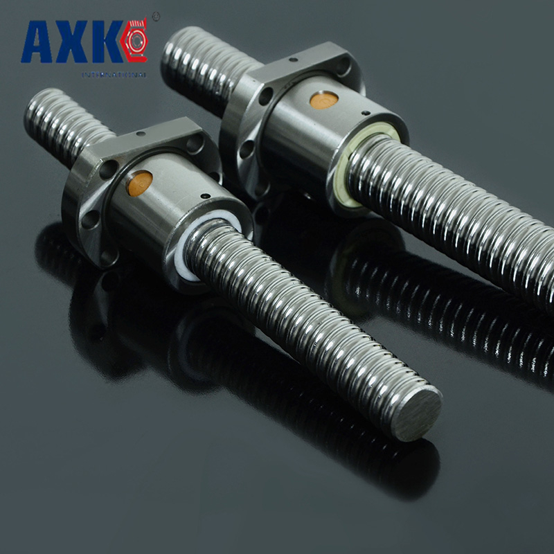 2017 Bearing 1204 Ball Screw Sfu1204 L= 150mm Rolled Ballscrew With Single Ballnut For Cnc Parts Rm1204 Without End Machine 2pcs rm1204 ball screw sfu1204 l 1200mm rolled ballscrew with 2pcs single ballnut for cnc parts