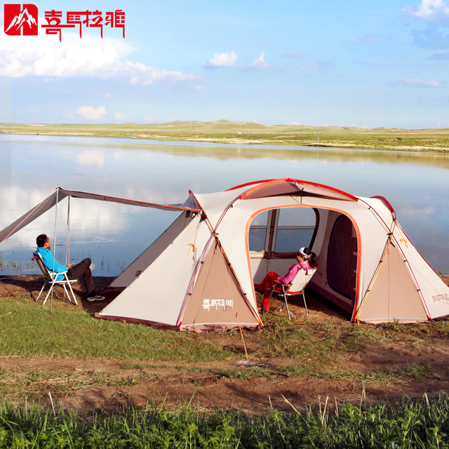 HIMALAYA Family C&ing Tent 8 Persons Multiplayer Oversized Outdoor Travelling by car Waterproof Ripstop Hiking Tent & HIMALAYA Family Camping Tent 8 Persons Multiplayer Oversized ...