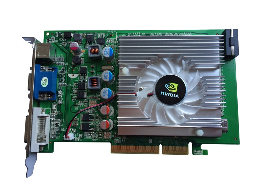 nVIDIA GeForce 7600GT 512MB DDR2 AGP 4X 8X VGA DVI Video Card,stronger than FX5500
