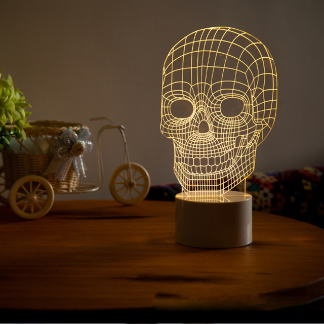 Aliexpress.com : Buy 3D Amazing Optical Illusion LED Light ...